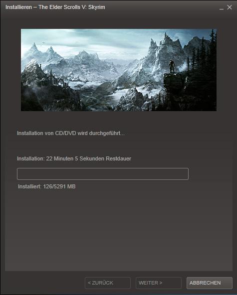 Skyrim Release Installation