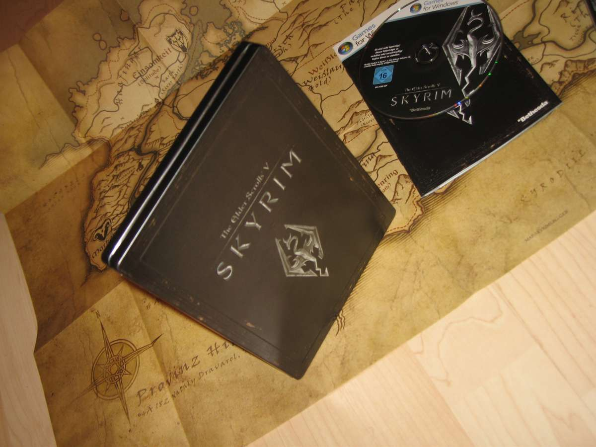 Skyrim Steel Box